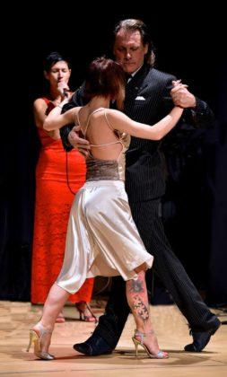 Esibizione di tango