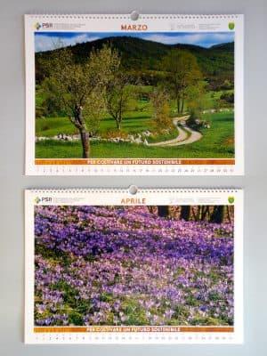 Marzo   Primavera in Carso (Ts);  Aprile   Fioriture primaverili boschi di Taipana (Ud)