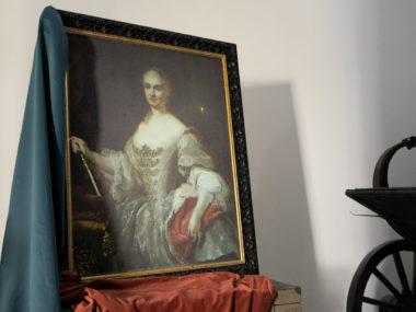 I quadri animati | Maria Amalia di Sassonia